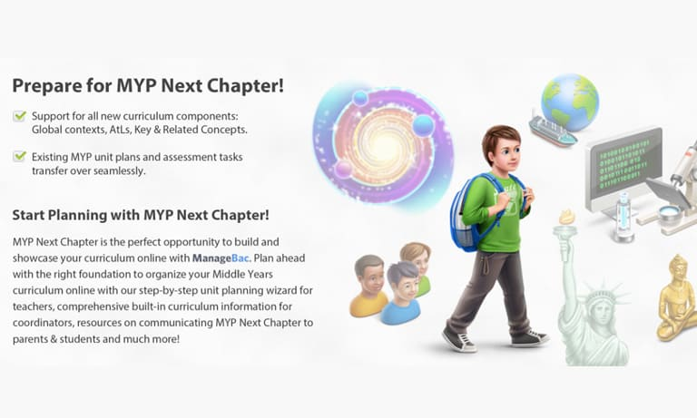 MYP Next Chapter on ManageBac