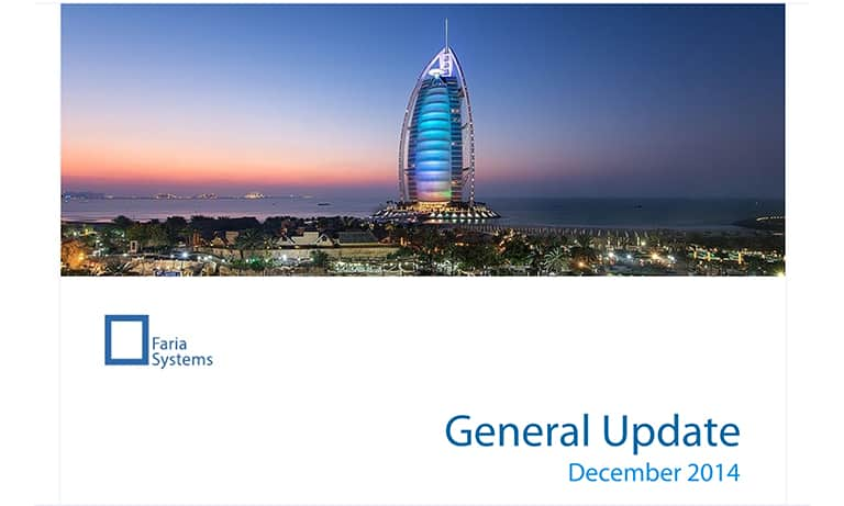 Company Update in Dubai