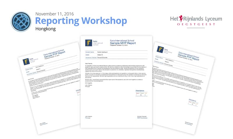 Join us for a Complimentary Reporting Workshop in Hong Kong!