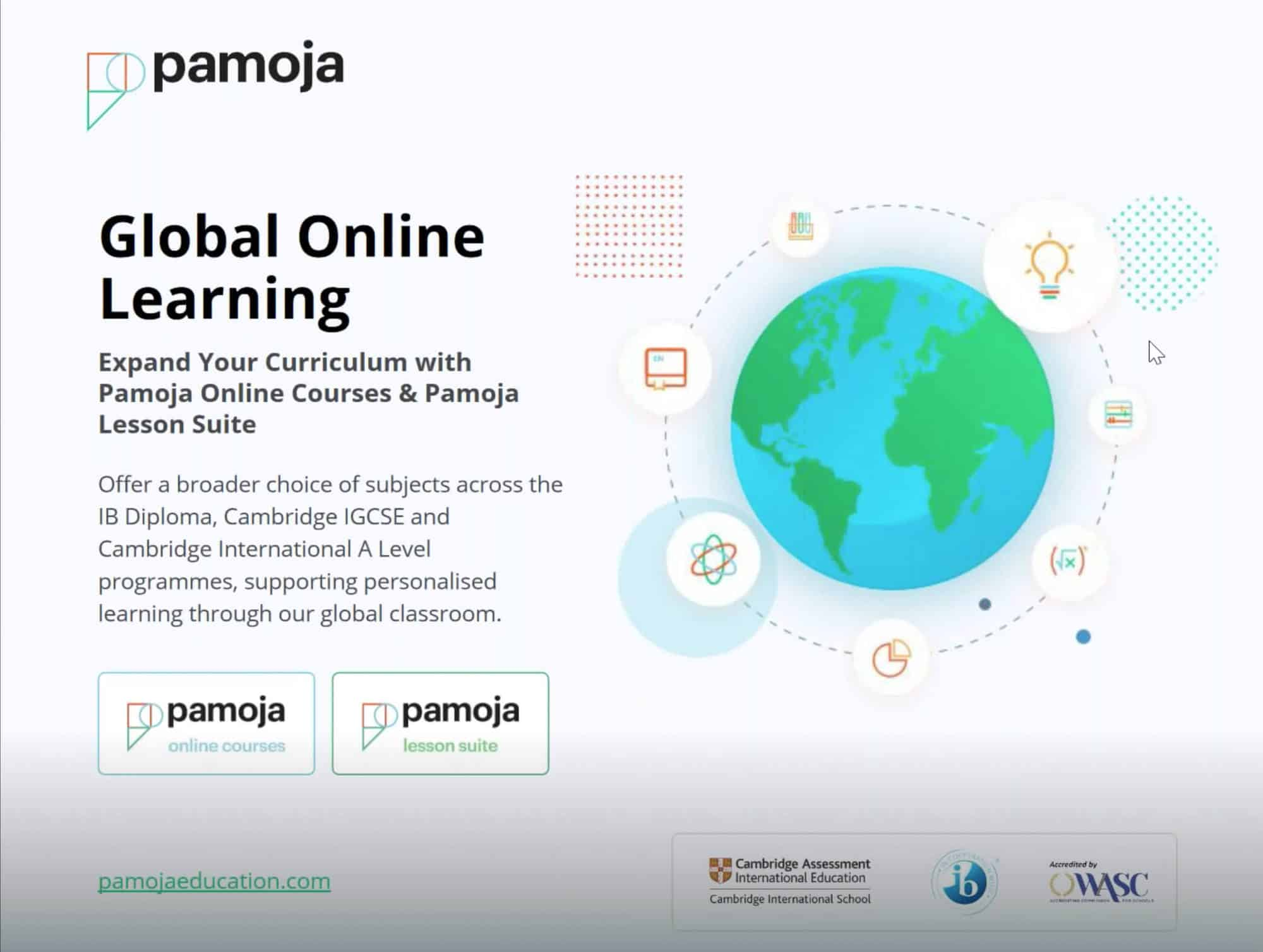Pamoja Online Courses and Registration via ManageBac