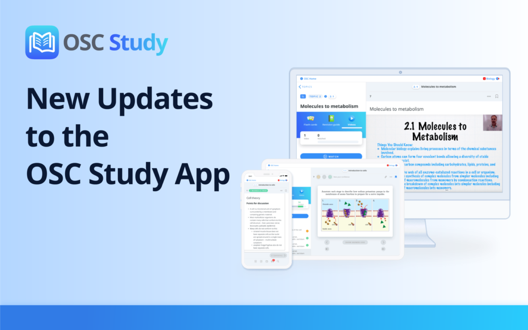 Improved Usability and Navigation for the OSC Study App