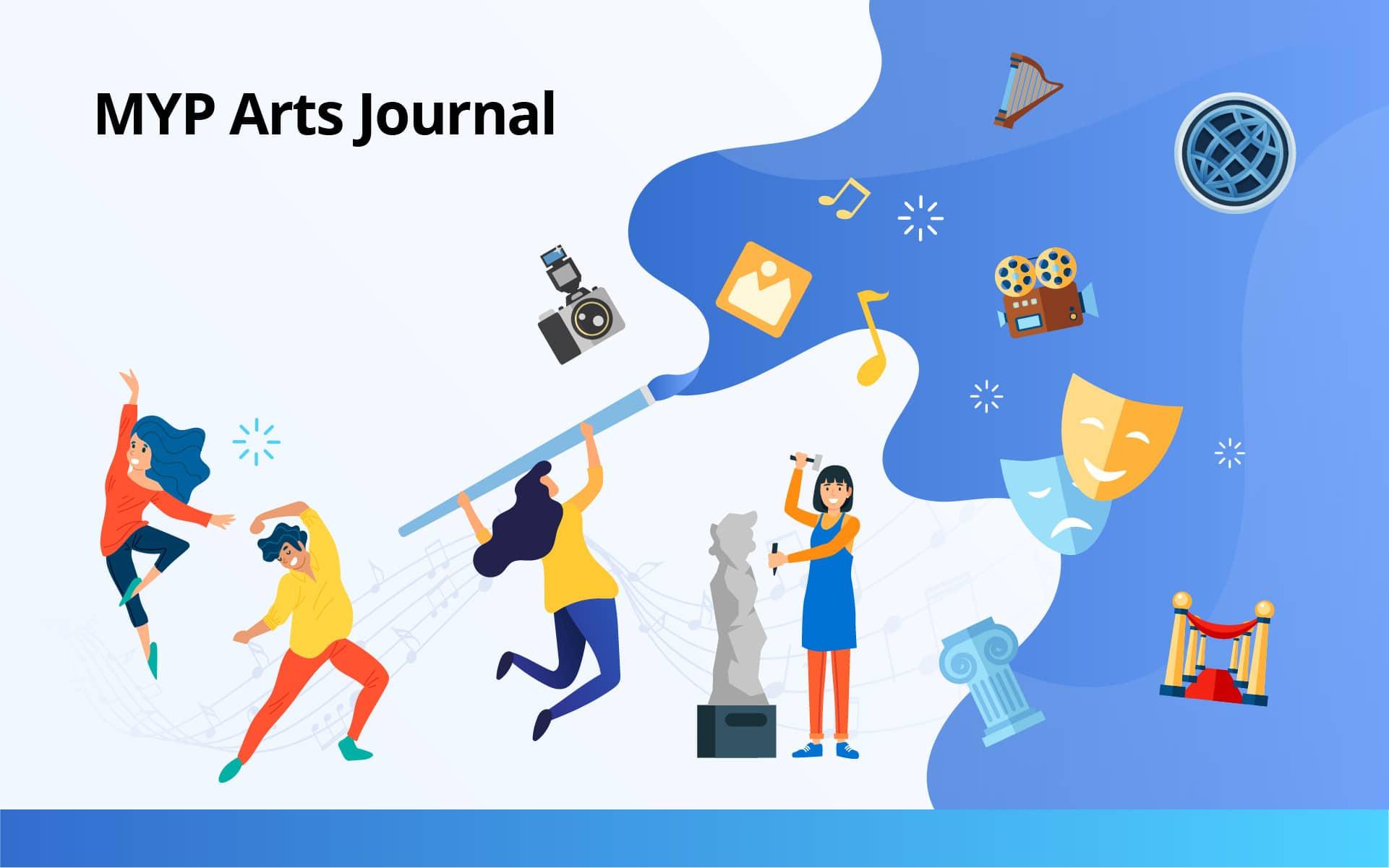 MYP Arts Journal 01
